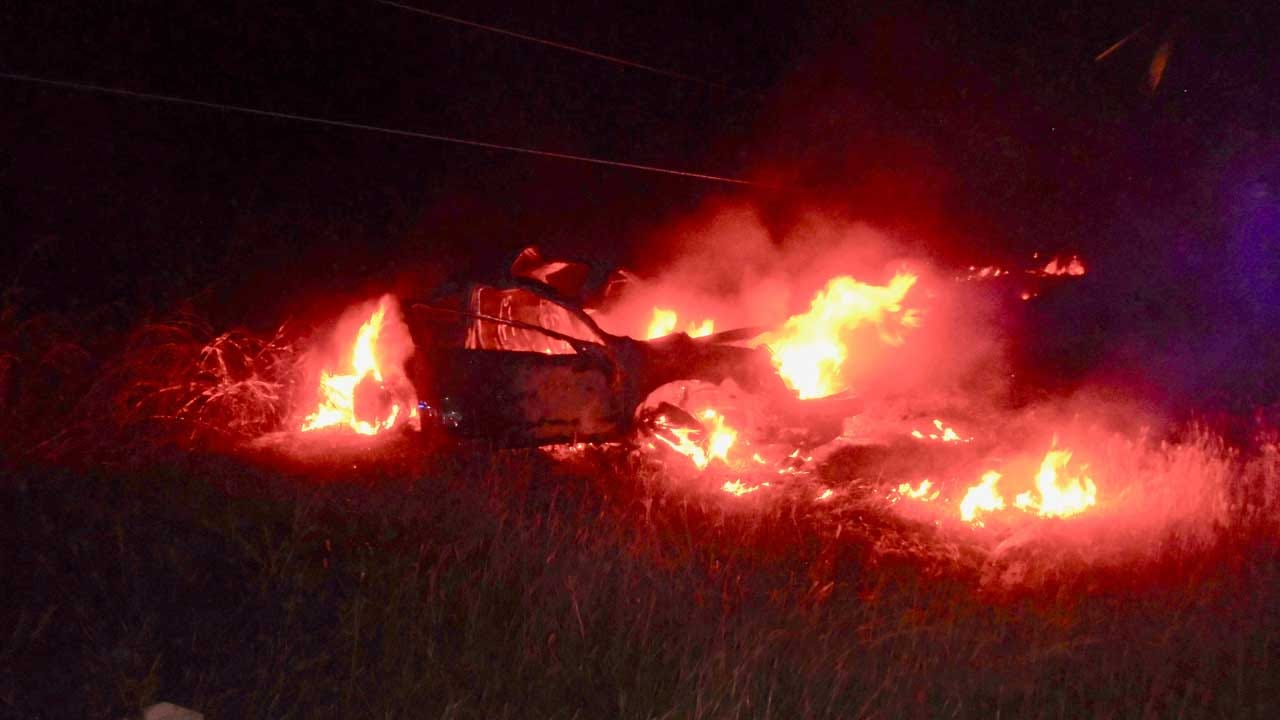 Off-Duty Cleveland Co. Deputy Saves Man From Burning Car