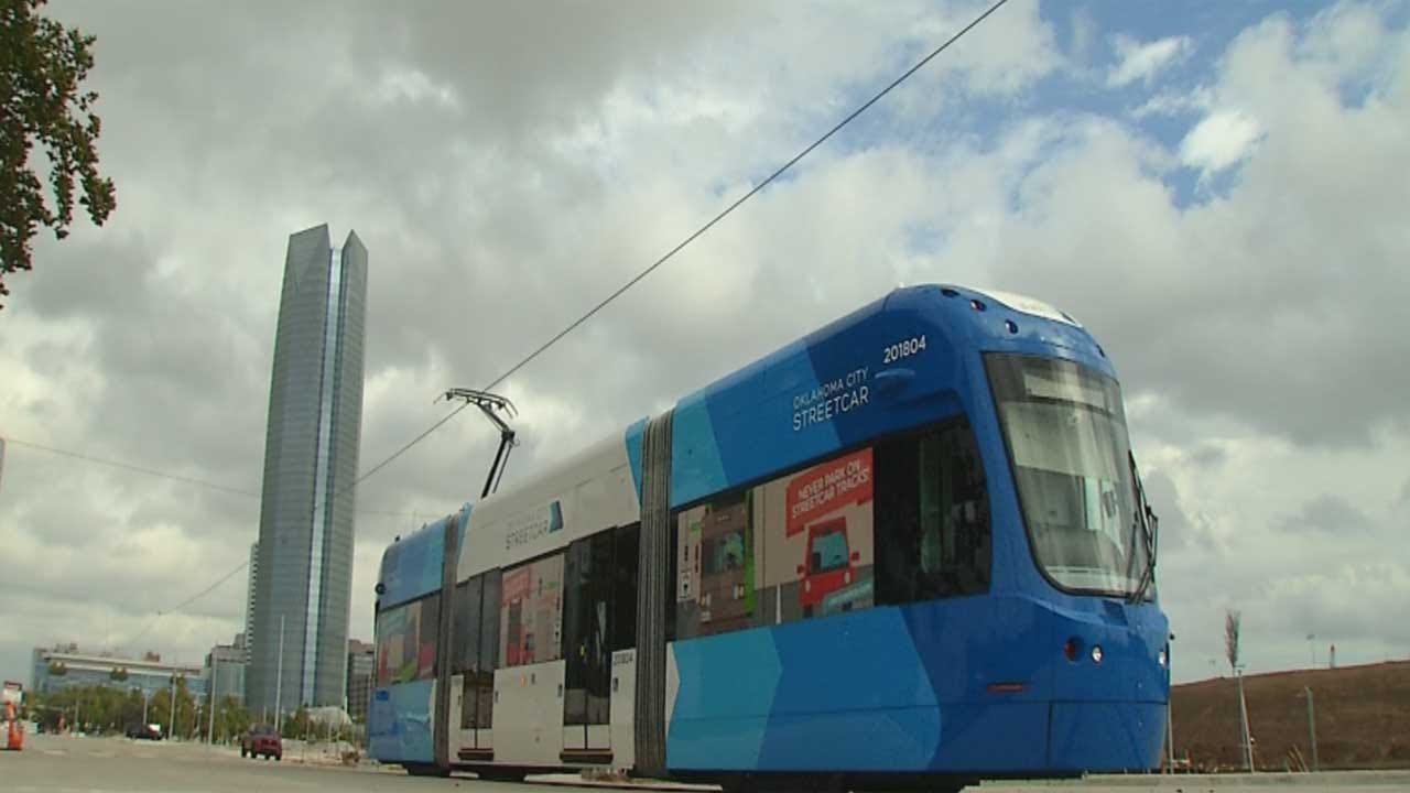 Streetcar Testing Starts In Downtown Oklahoma City