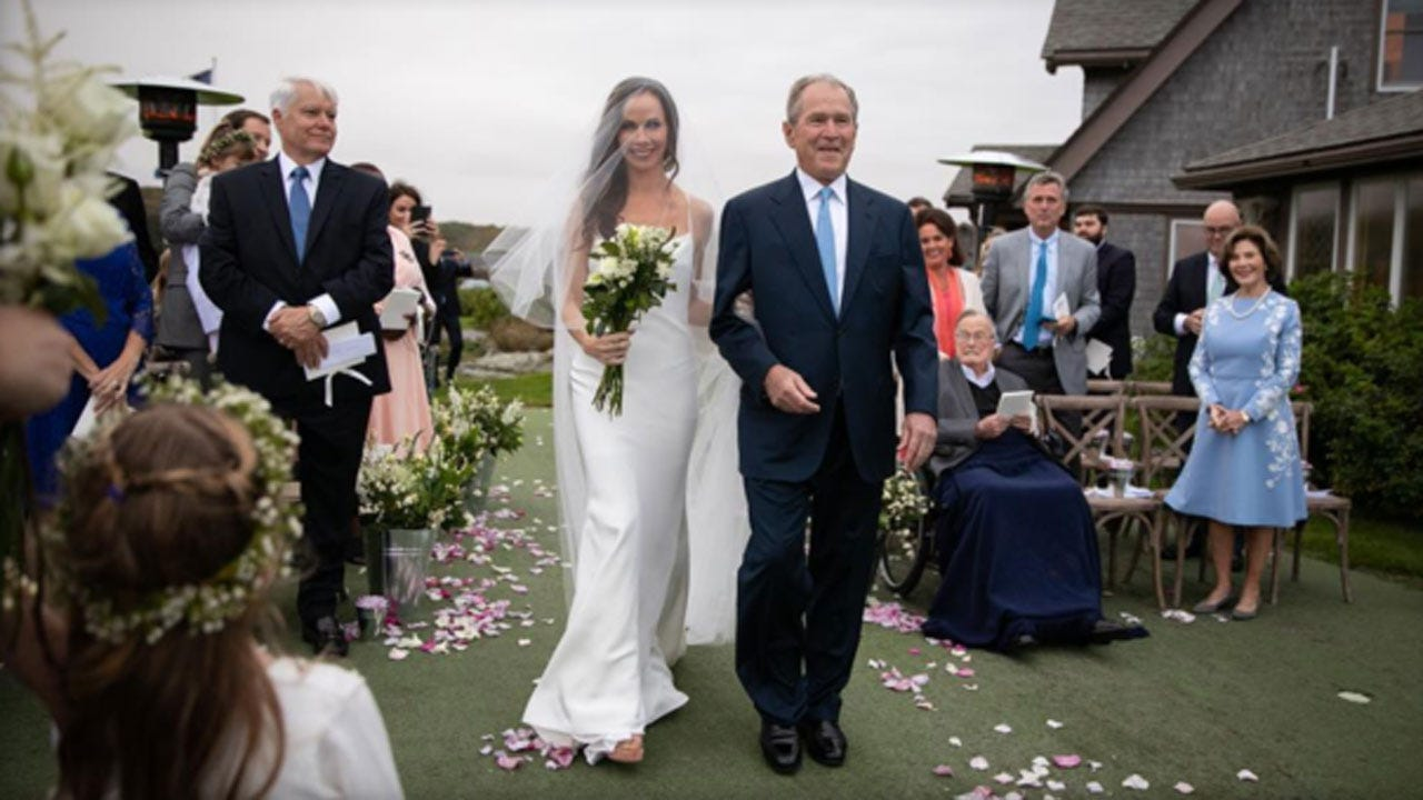 Former First Daughter Barbara Bush Gets Married In 'Very Secret Wedding'