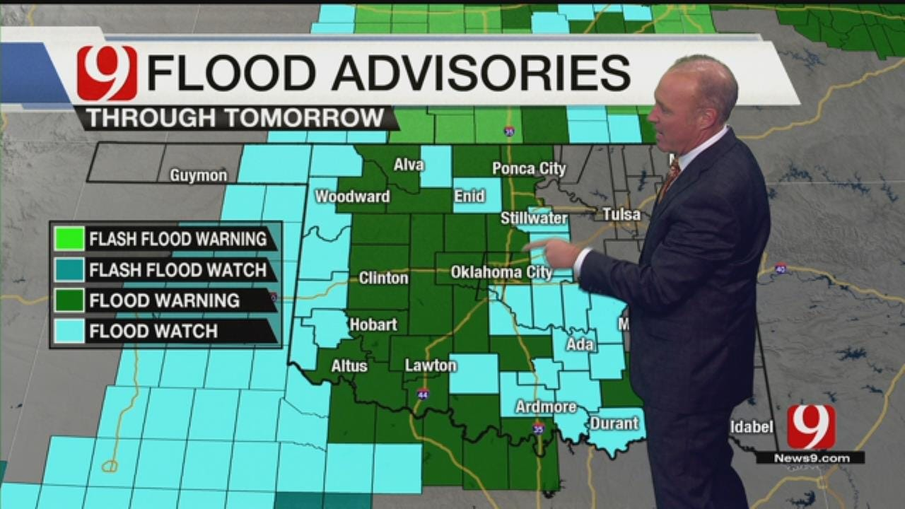 More Rain, Flooding Expected Overnight Into Tuesday Morning