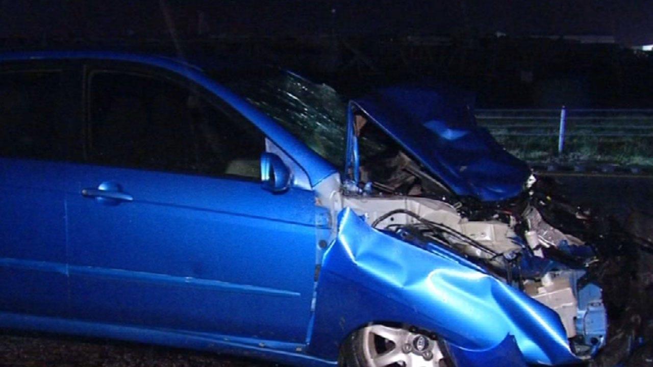 OKC Officer Injured After Driver Crashes Into Patrol Vehicle