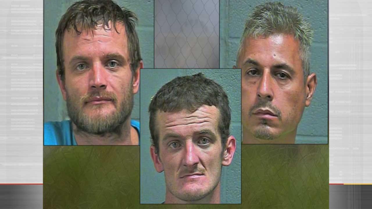 OKC Theft Ring Leaves Destruction Worth Millions, Three Arrested