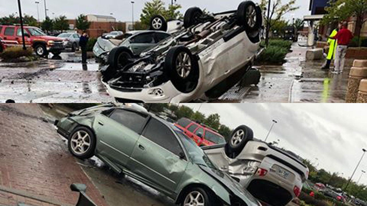 Tornadoes Flip Cars, Leave Damage Behind In Oklahoma