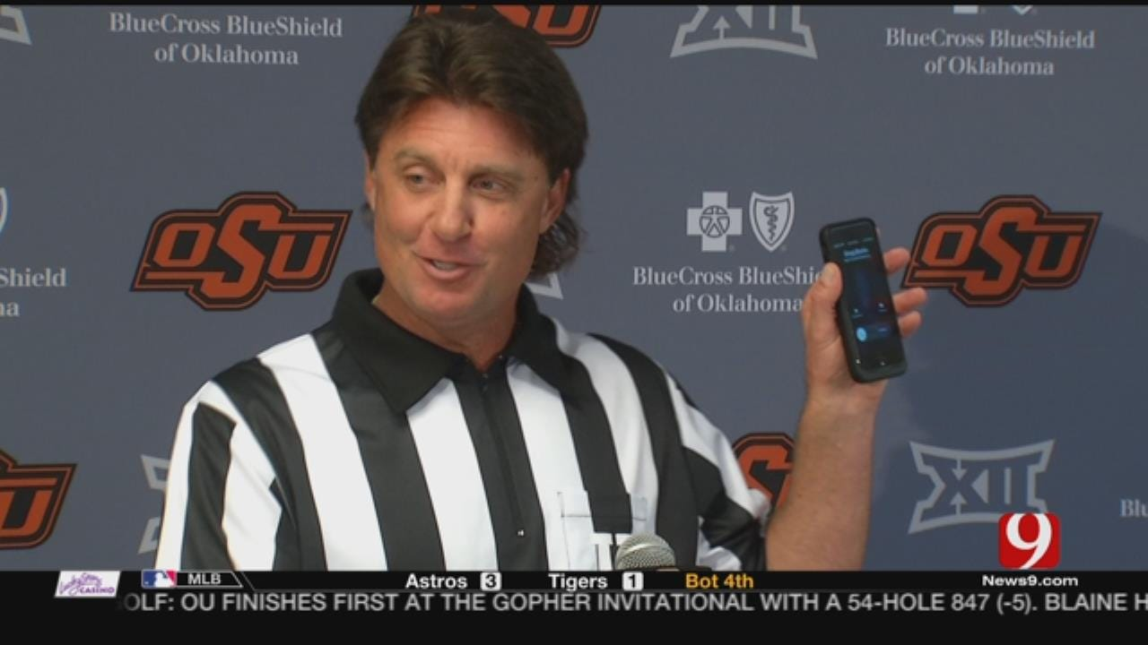 Gundy Encourages Fans To Stripe Stadium Against Boise State