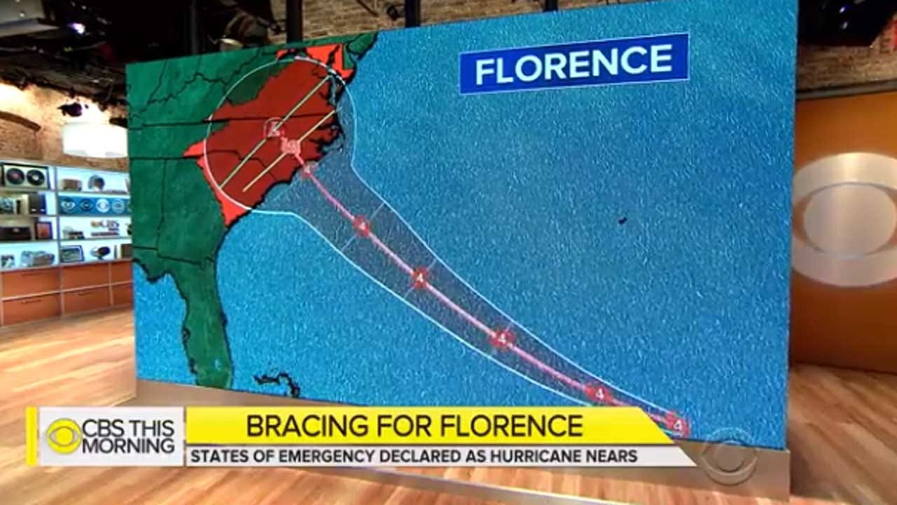 3 States Brace For Impact As Hurricane Florence Gains Steam