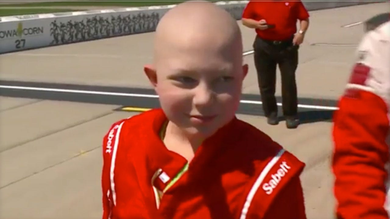 NASCAR Remembers Young Fan Who Asked For Racing Stickers For His Coffin
