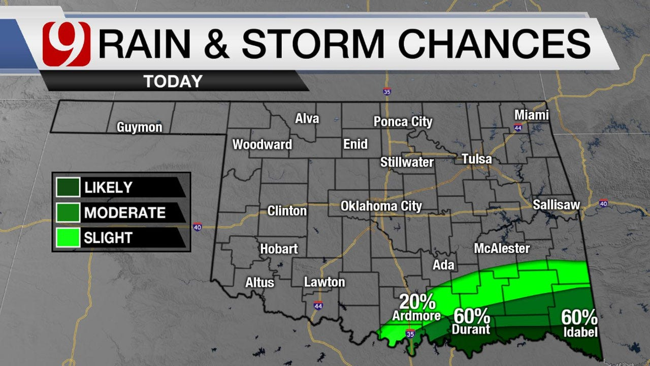 Patchy Fog Developing Across Parts Of Oklahoma