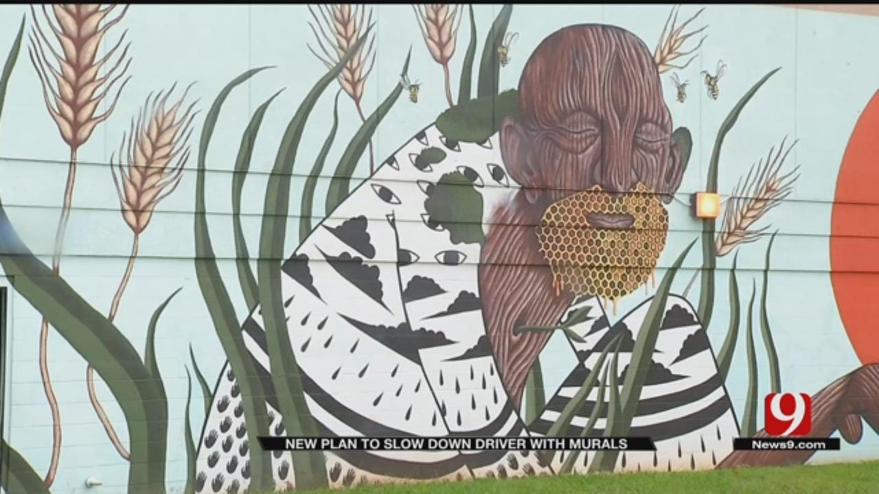 Murals To Cover Intersections In OKC Neighborhood