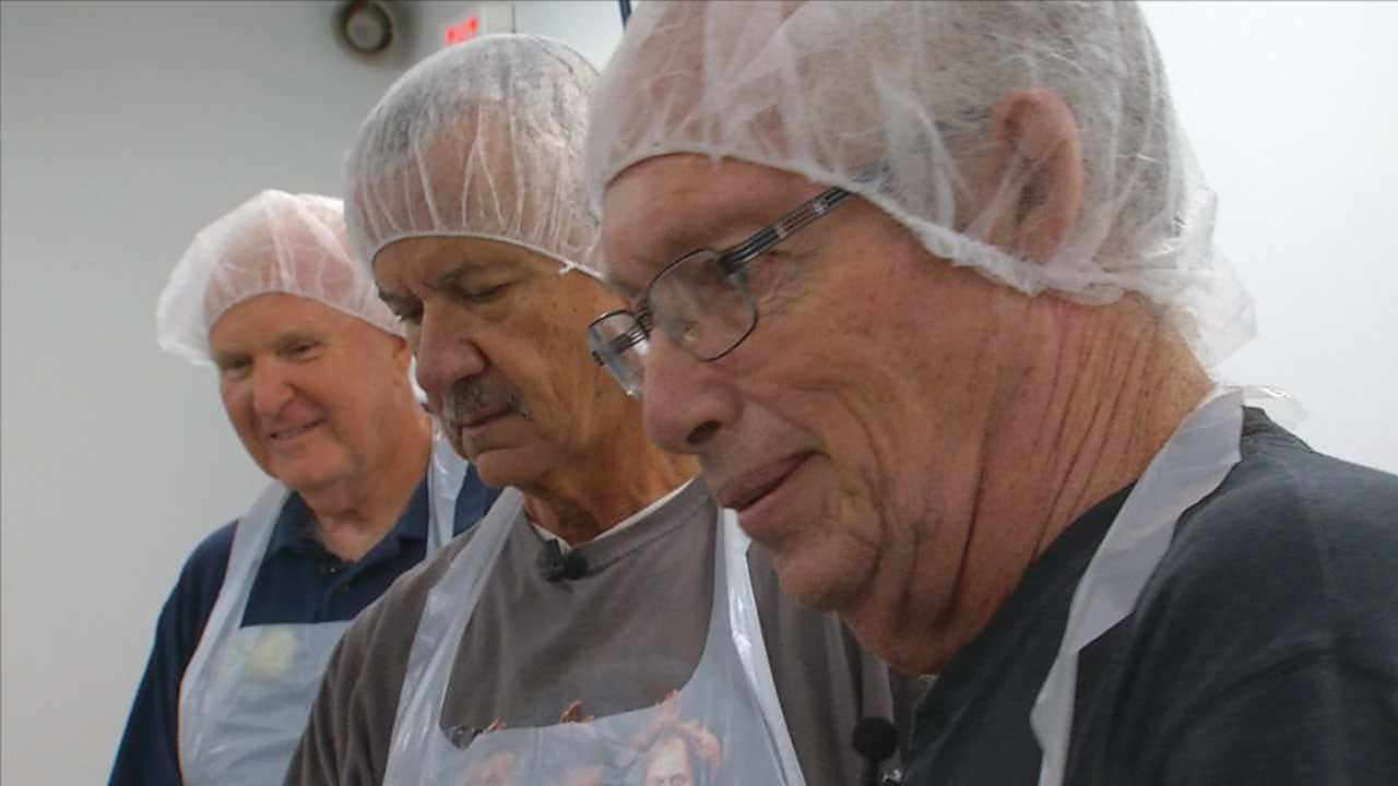 3 Retirees Become Lifelong Friend Through Volunteering At OK Food Bank