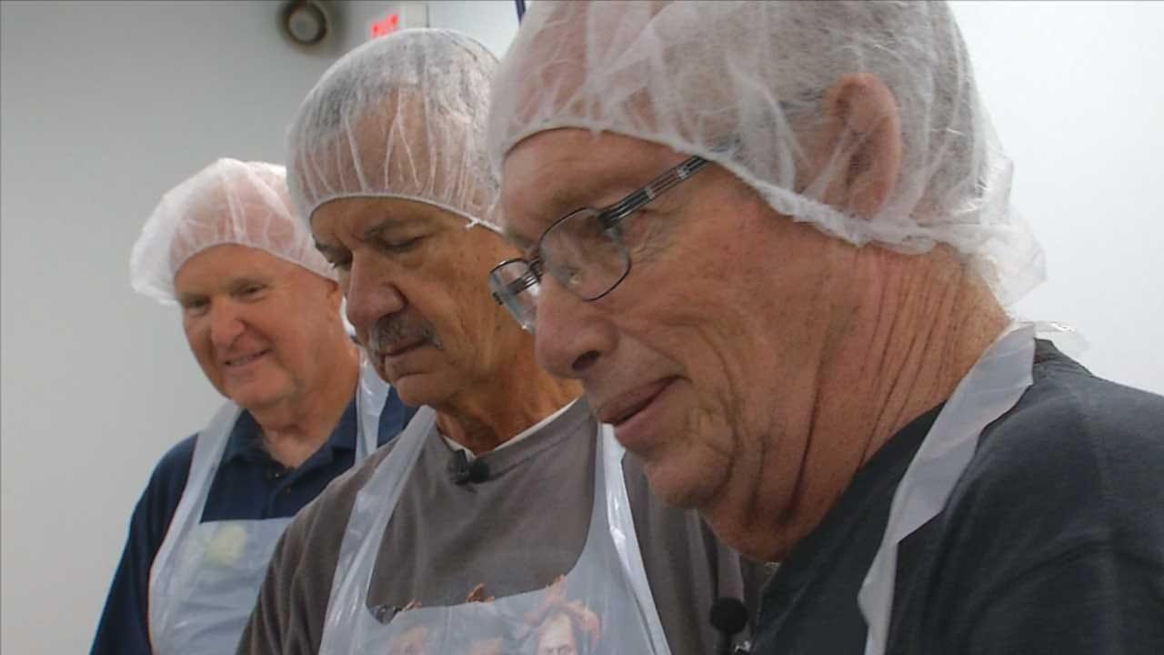 3 Retirees Become Lifelong Friend Through Volunteering At OK Food Bank