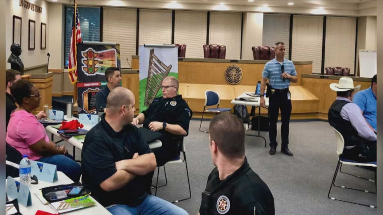 Cleveland County Sheriff's Office Deputies Taking Part In 'RITE' Training