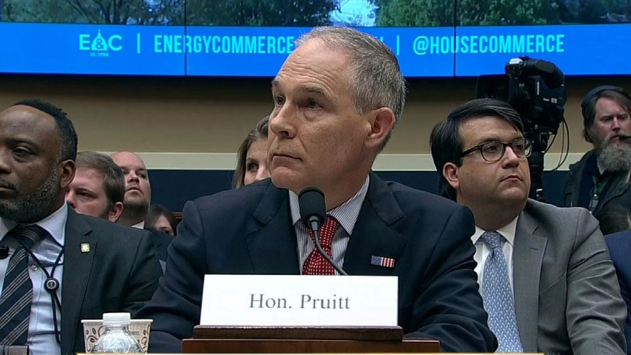 Former EPA Administrator Scott Pruitt Denies Claims In Financial Disclosure