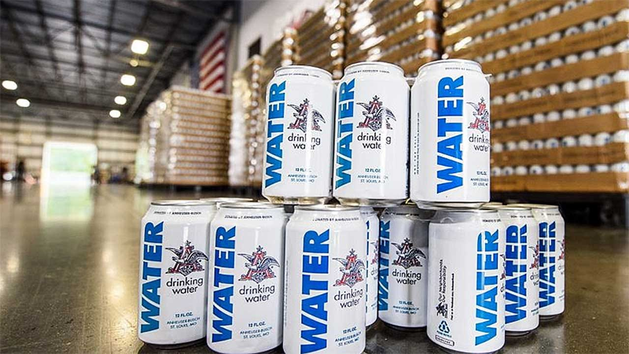 Hurricane Florence Relief: Budweiser Cans Water Instead Of Beer