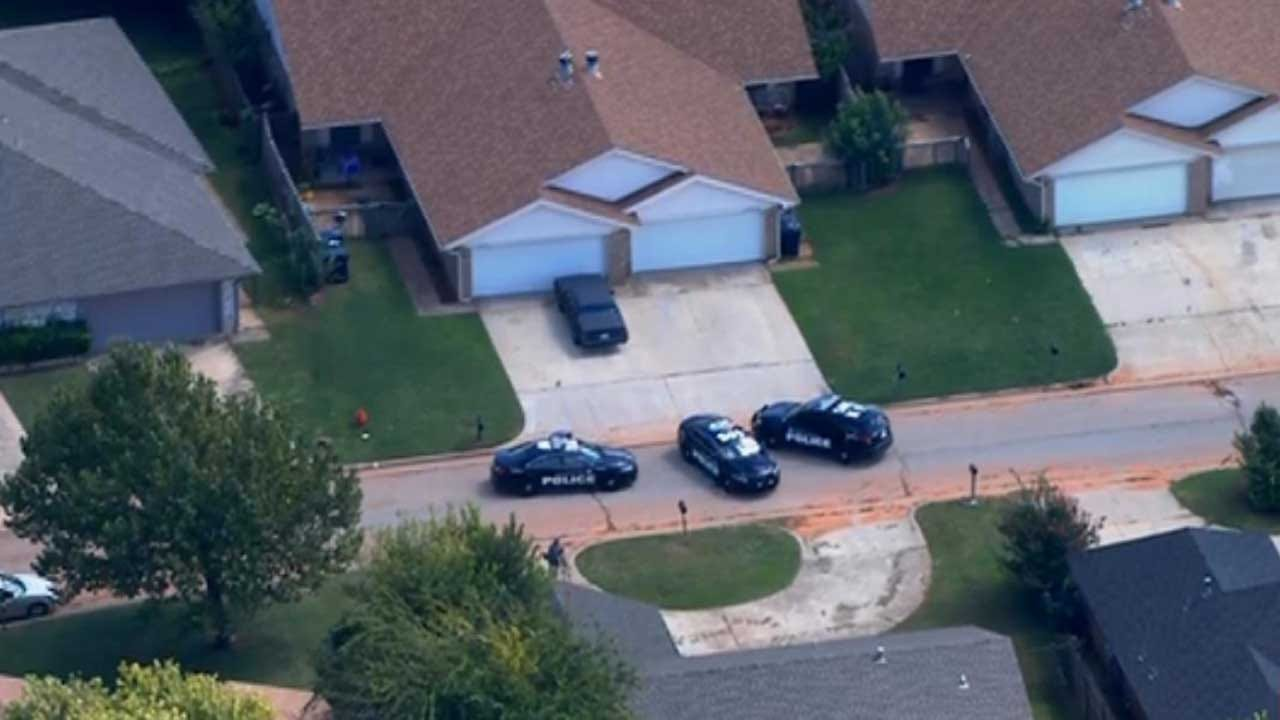 Police Searching For Suspect In NW OKC Shooting