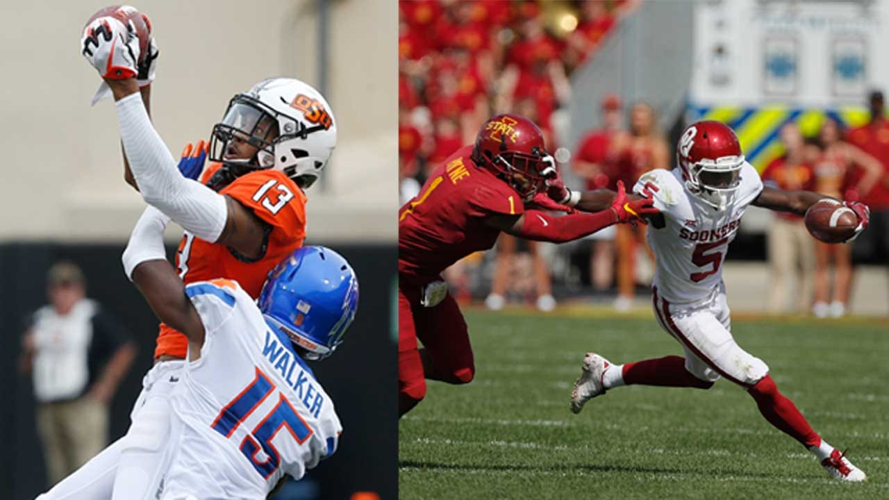 AP Top 25: Oklahoma State Moves To No. 15, Oklahoma No. 5 In Latest Poll