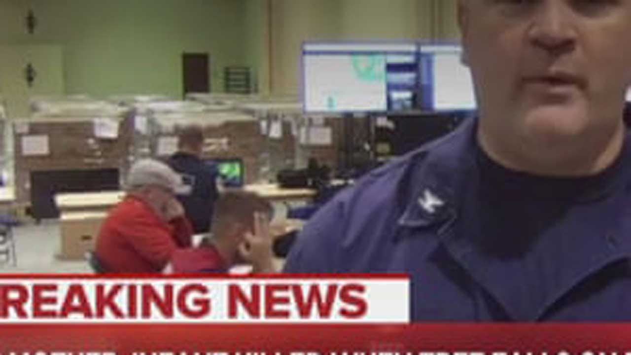 """Coast Guard Removes Employee From Florence Duty Over Alleged """"White Power"""" Gesture"""