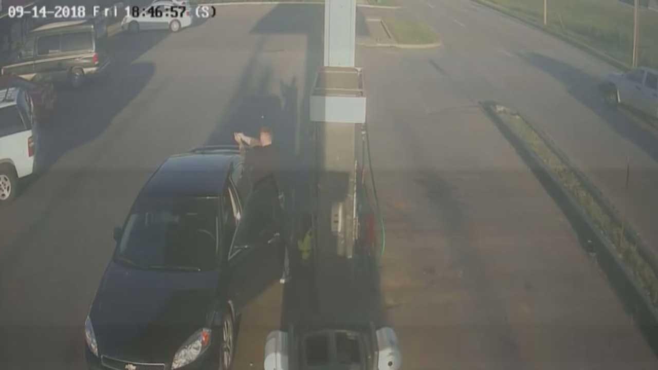 Disturbing Surveillance Video Shows Deadly Shooting At El Reno Gas Station
