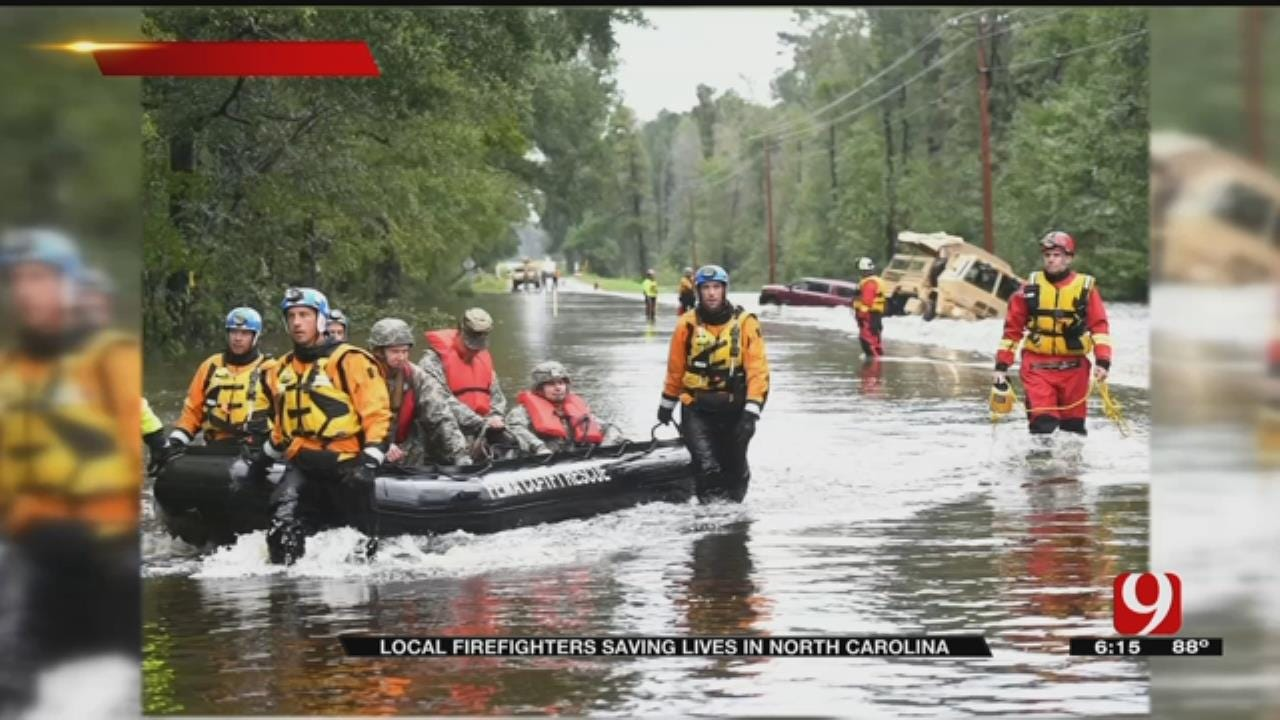 Oklahoma Task Force Members Rescue Florence Victims