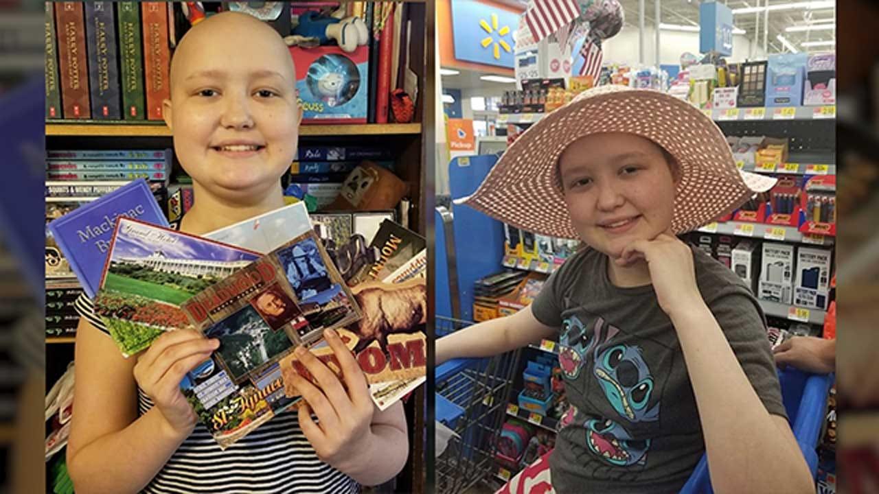 Oklahoma Girl Battling Leukemia Would Love Postcards For Her Birthday