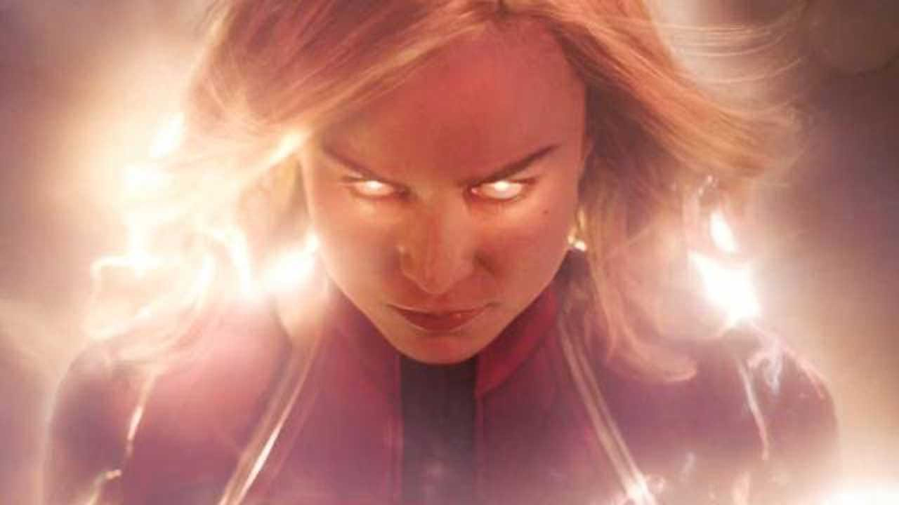 WATCH: First Glimpse Of Brie Larson As Captain Marvel