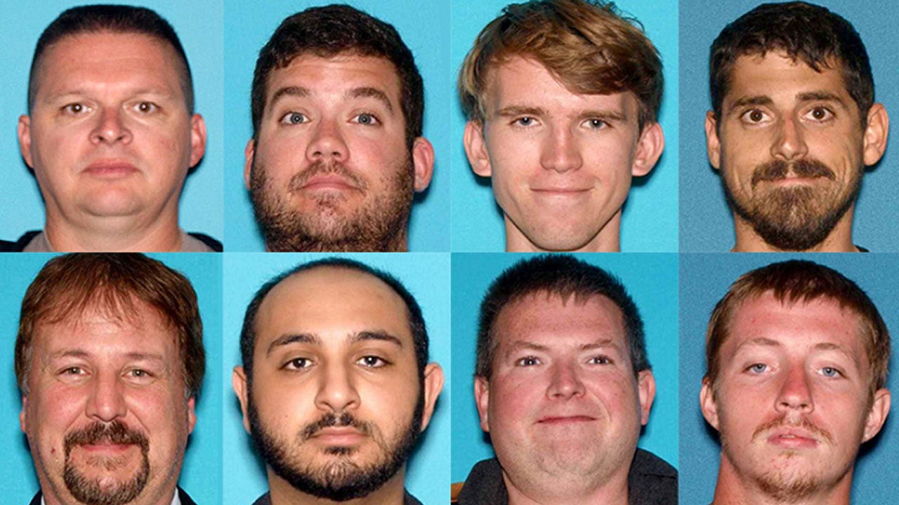 Cop, Firefighter Among 24 Charged In Child Luring Sting
