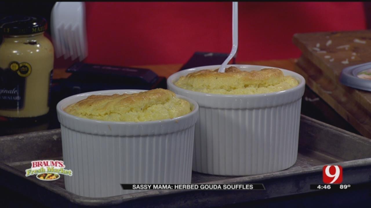 Herbed Gouda Souffles