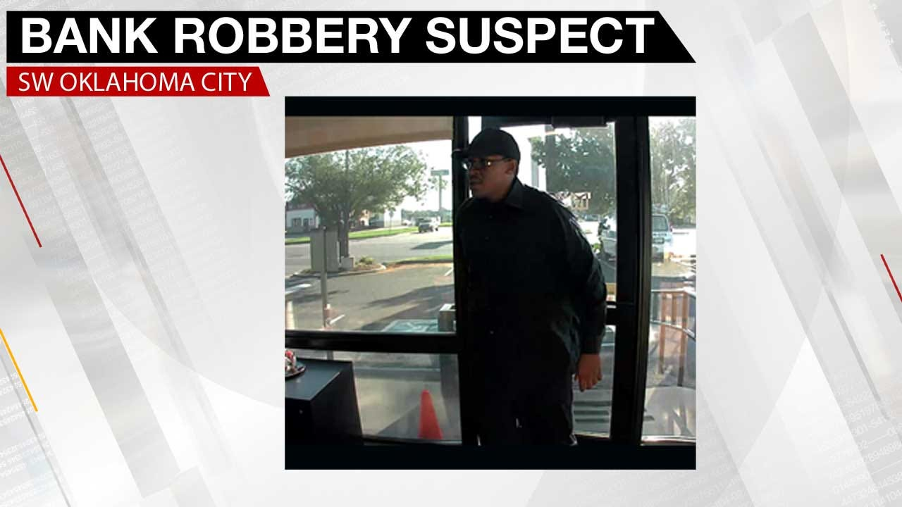 SW OKC Bank Robbed Wednesday Morning