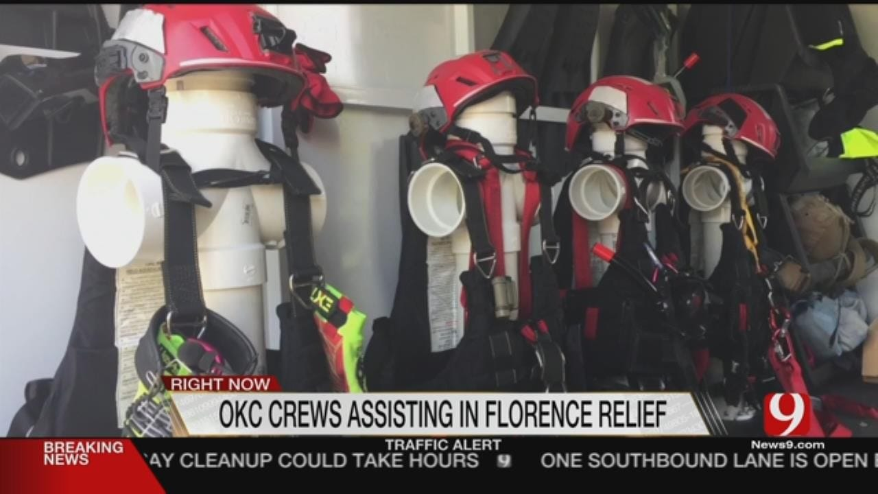 Oklahoma Rapid Response Team Aids North Carolina Residents In Need Of Help