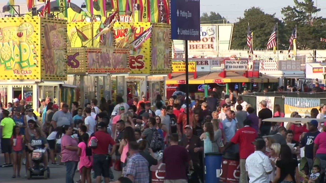 Local Law Enforcement Report On Crime At This Year's State Fair