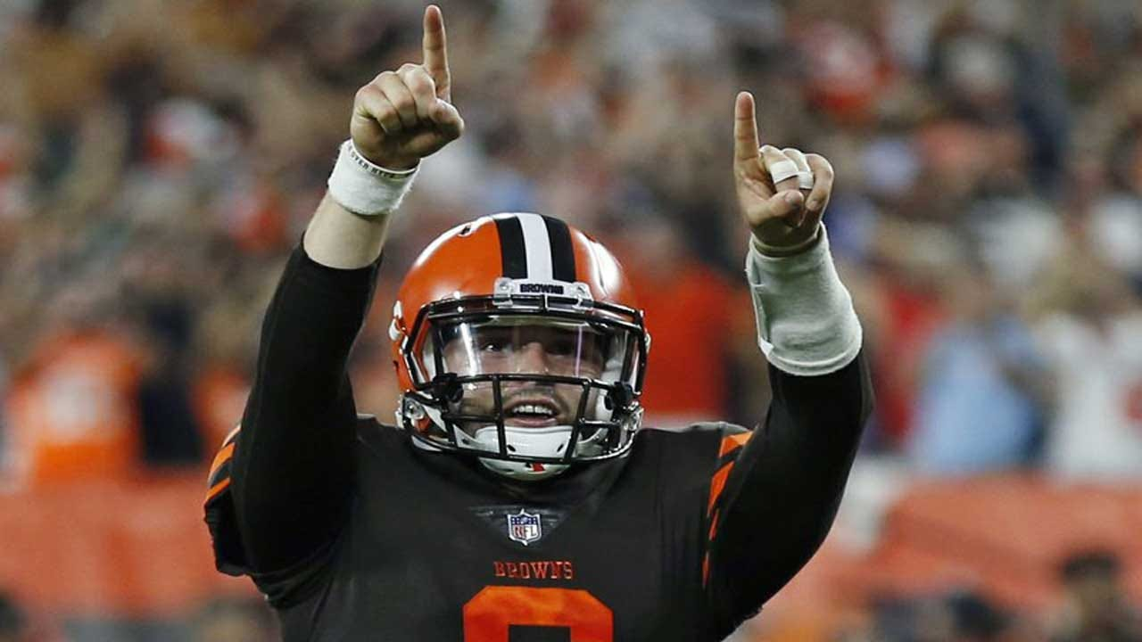 Baker Mayfield Wins NFL Rookie Of The Week Honors