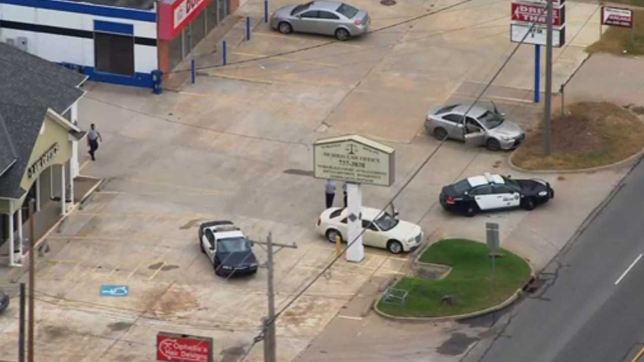 Gunshot Victim Found In Midwest City