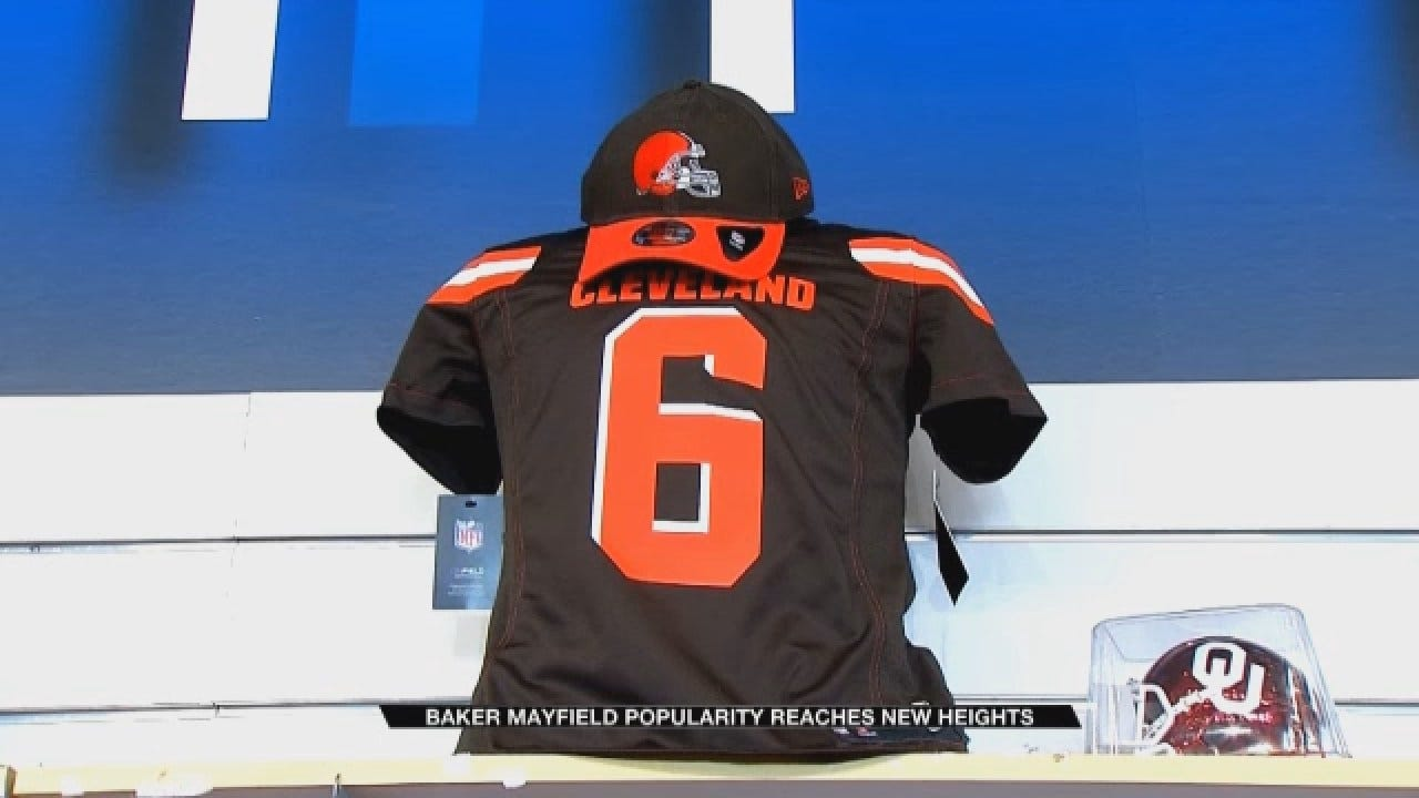 Baker Mayfield's Popularity Reaches New Heights