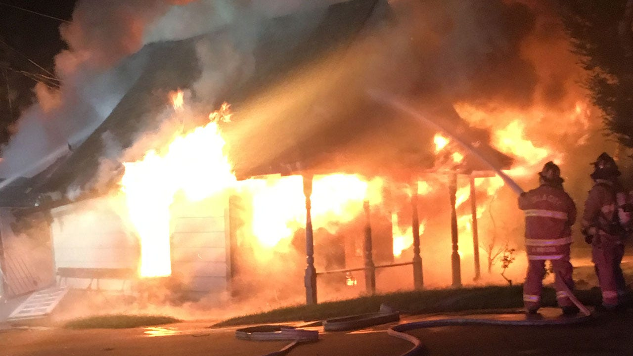 Home A Total Loss After Fire In Northwest OKC