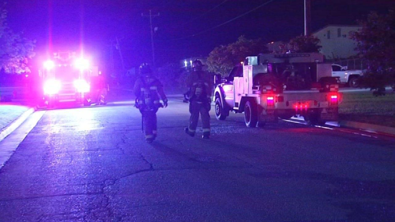 Crews Battle Commercial Fire In Southwest OKC