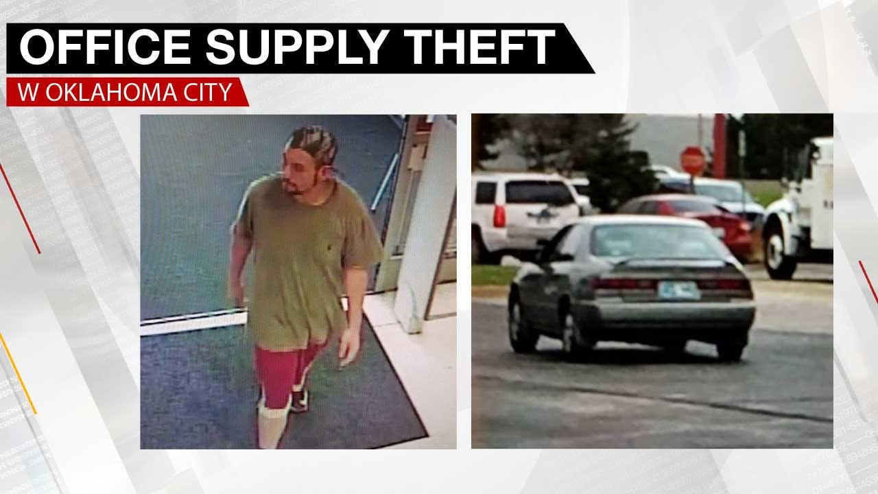 OKC Police Looking Thief Who Concealed Stolen Item In Pants