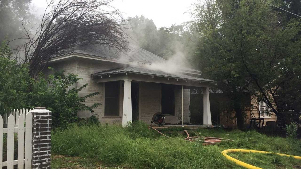 Vacant Home In SW OKC Damaged By Fire