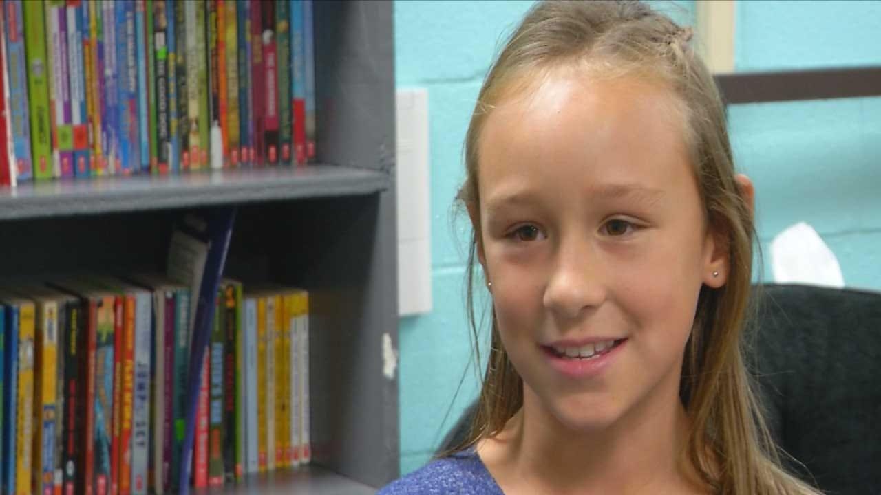 Weatherford Girl Raises Money To Eliminate Plastic Waste In Ocean
