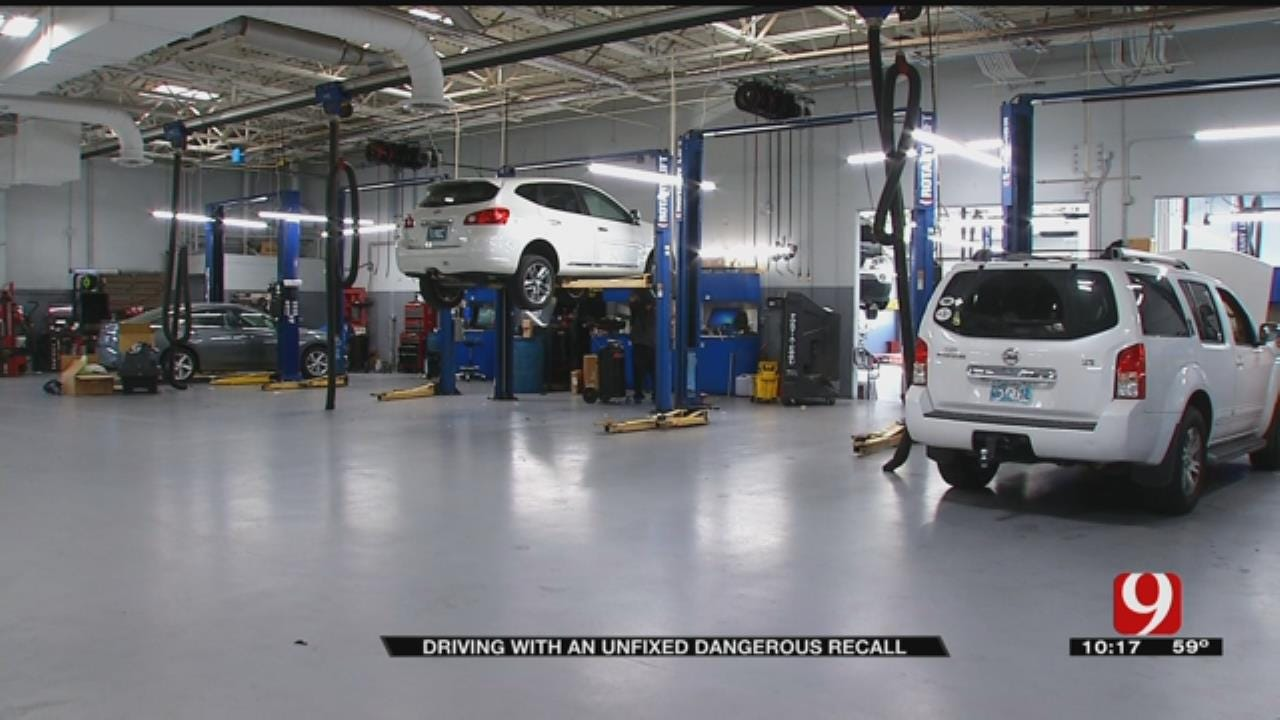 CARFAX: 1 In 4 Cars On Oklahoma Roads Has Unfixed Recall