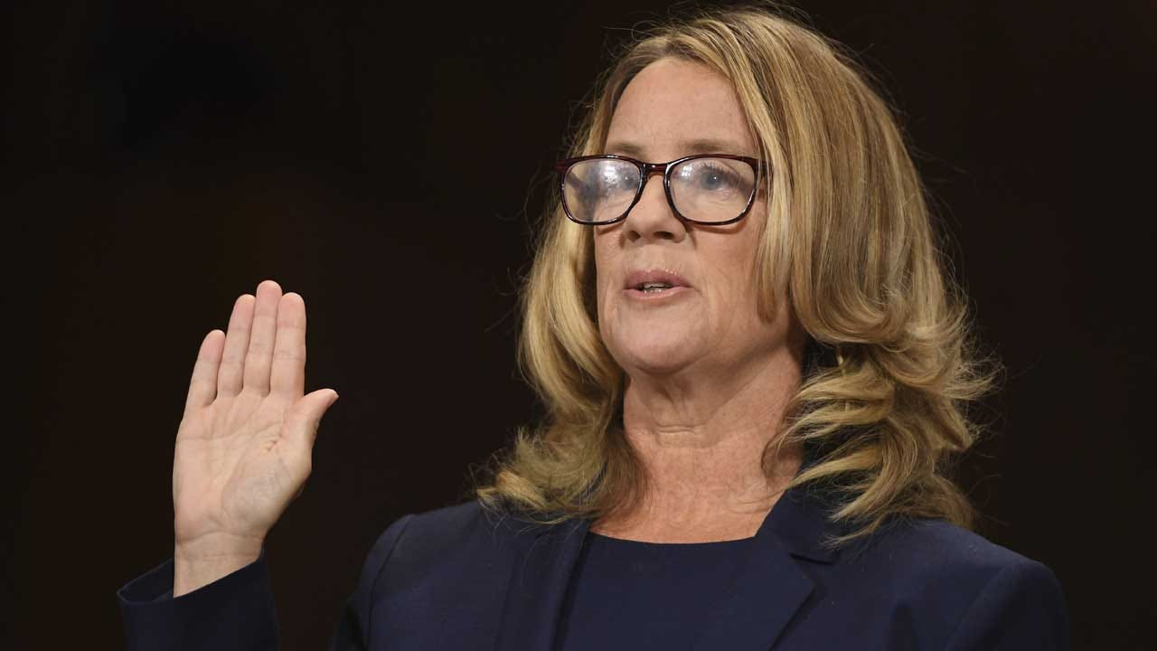 Christine Blasey Ford Concludes Testimony, '100 Percent' Sure Kavanaugh Assaulted Her