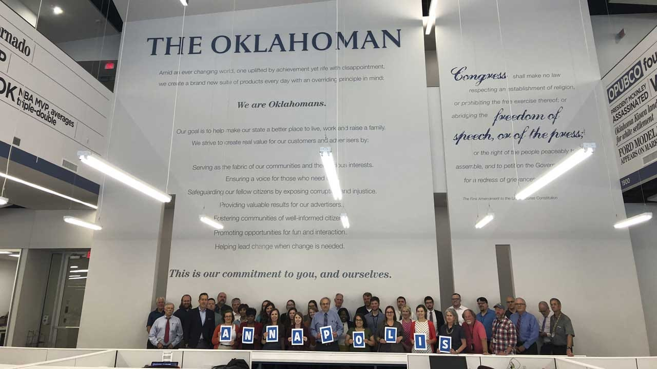 The Oklahoman Has Been Sold To GateHouse Media