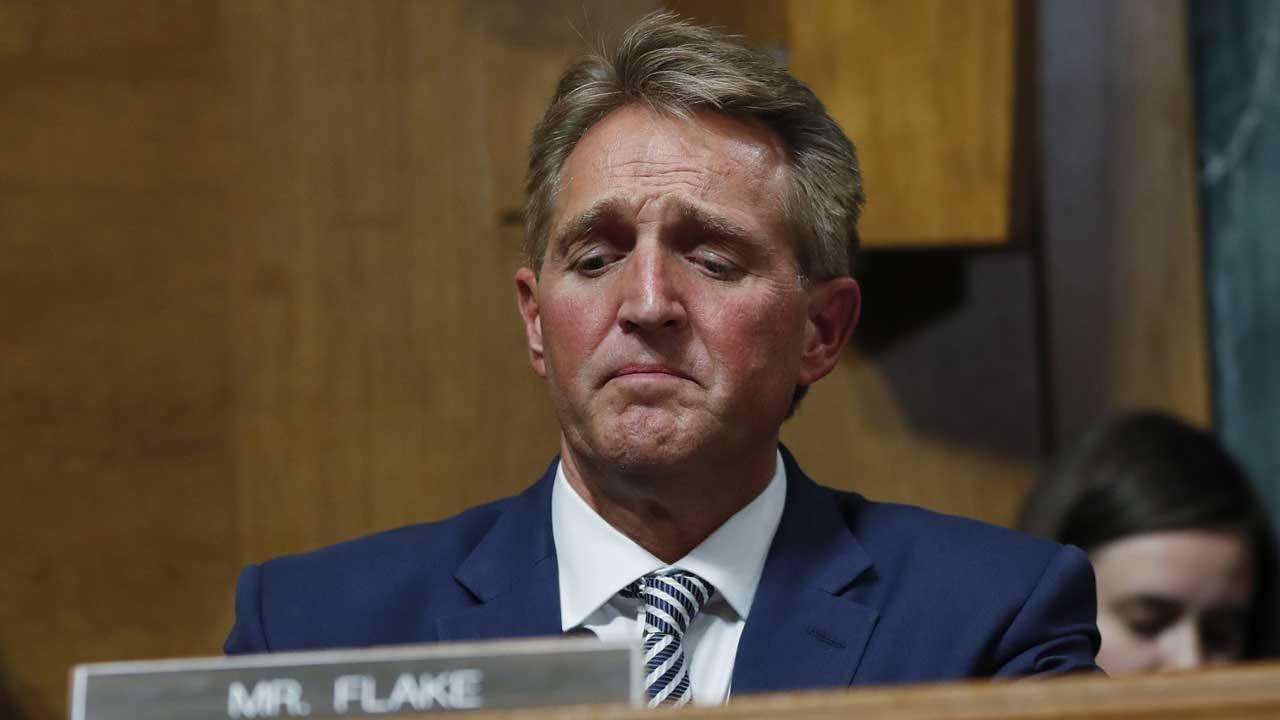 Trump Defers To Senate On Flake's Request For Delay, FBI Probe