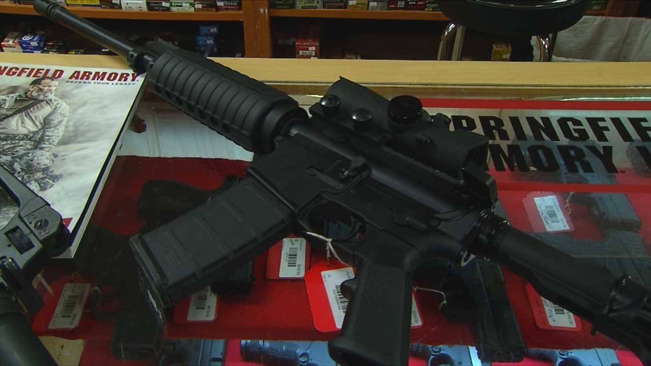 Gubernatorial Candidate Drew Edmondson Proposing Tougher Gun Laws