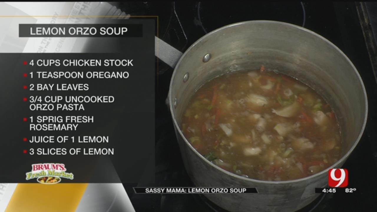 Lemon Orzo Soup