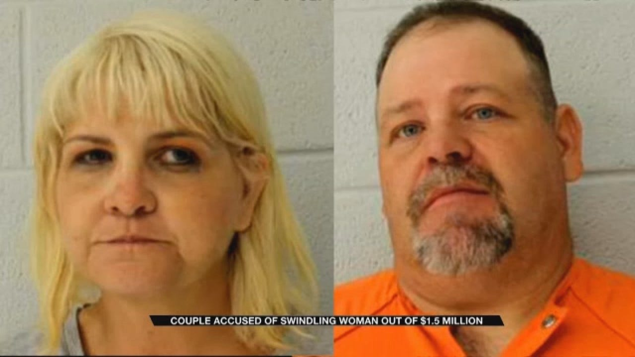 Couple Accused Of Swindling Enid Woman Out Of $1.5 Million