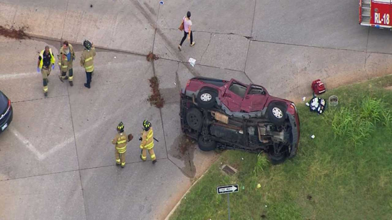 Driver T-Boned By Suspect In Stolen Pick-Up Recovering
