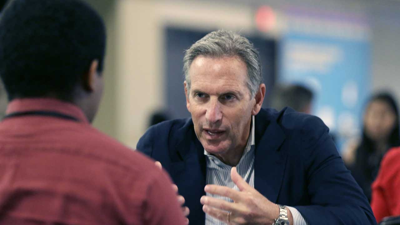 Former Starbucks Chairman Says He Has 'Great Aspirations,' May Run For Office