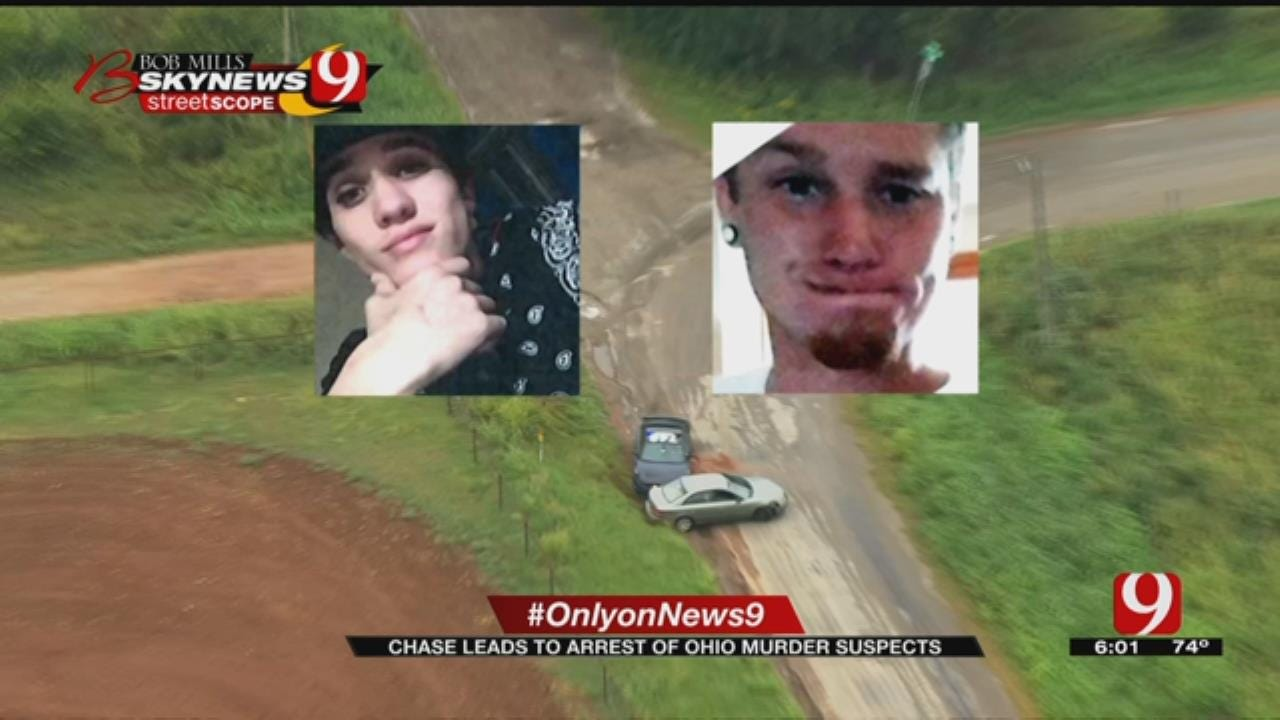 OKC Chase Suspects Accused Of Fatal Stabbing