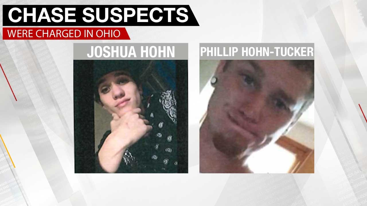 OKC Metro Chase Suspects Are Reportedly Fugitives From Ohio