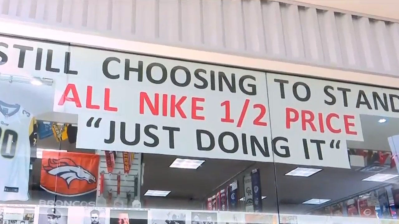 Store Throws Nike Sale In Protest Of Kaepernick Ad
