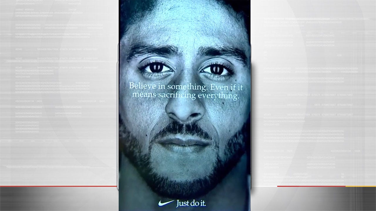 Nike's Colin Kaepernick Ad Hurting Its Brand, Poll Suggests
